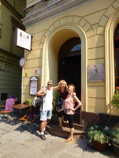 Sortint del Restaurant recomanat a Wroclaw (Breslau-Polònia)