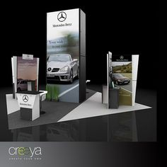 Trade show Booth by Custom Modular Trade Show Booths, via Flickr