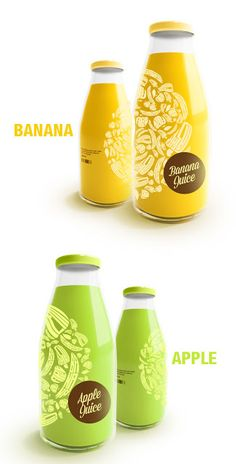 Juice Bottles by Renan Artur Vizzotto on Packaging of the World - Creative Package Design Gallery Packaging World, Fruit Packaging, Beverage Packaging, Bottle Packaging, Brand Packaging, Packaging Design, Packaging Ideas, Best Fruit Juice, New Fruit