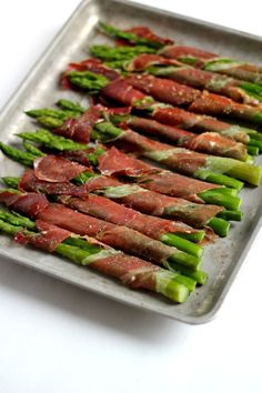 Paleo Prosciutto Wrapped Asparagus are easy to make and an impressive addition to any dinner.