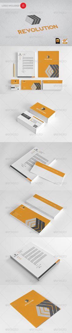 Revolution Corporate Identity - GraphicRiver Item for Sale