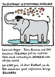 Edward Monkton S Cards Are The Best Compion Elephants Quotations