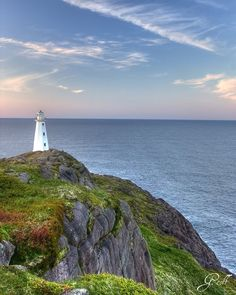 "coiour-my-world: "" Cape Spear lighthouse, Newfoundland ~ by Geoff Whiteway "" Newfoundland Canada, Newfoundland And Labrador, Parks Canada, O Canada, Canada Site, Wonderful Places, Beautiful Places, Costa, Canadian Travel"