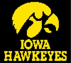 Looking for your next project? You're going to love Iowa Hawkeyes Graph by designer Celina86.
