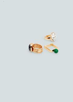 Set anelli geometrici | MANGO