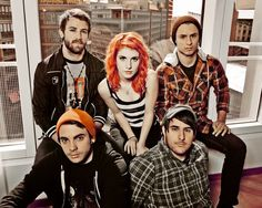 Paramore: #3 fave band since 2007/2008 <3