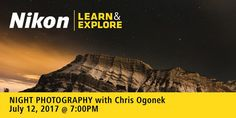 "Nikon Canada's FREE ""Learn & Explore 