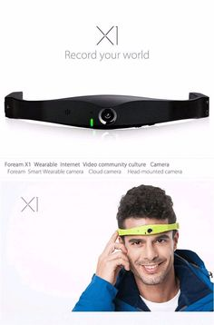 137.78$  Watch now - http://aliin4.worldwells.pw/go.php?t=32679655851 - Free shipping!Foream X1 Wireless Cloud WIFI Video Camera Ambarella A7 1080P Mini DV for Phone 137.78$