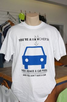 Do you car pool?