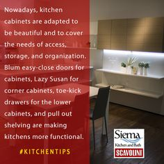 Nowadays, kitchen cabinets are adapted to be beautiful and to cover the needs of access, storage, and organization. Blum easy-close doors for cabinets, Lazy Susan for corner cabinets, toe-kick drawers for the lower cabinets, and pull out shelving are making kitchens more functional. #Integralkitchens #Kitsilano #Vancouver #KitchenRemodel #KitchenCabinets #KitchenStorage