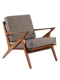 Charmant Mid Century Modern Reproduction Mid Century Z Lounge Chair   Grey Inspired  By Poul Jensen