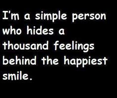 A simple person.