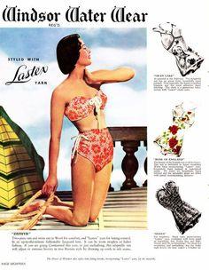 1950's bathing suit ad