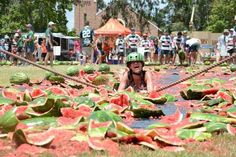 This Small Queensland Town Has A Melon Festival And It's Epic