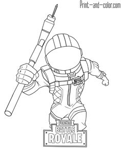 There Are Many High Quality Fortnite Coloring Pages For Your Kids