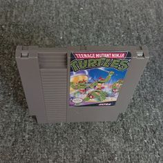 Teenage Mutant Ninja Turtles 72 pins Game Cartridge For Nes Nintendo Original Nintendo, Teenage Mutant Ninja Turtles, Nintendo Games, Card Games, Video Game, Ebay, Video Games, Videogames