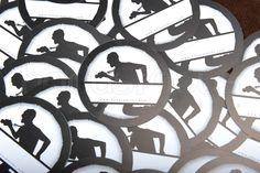40 Haramiler // Yaka Kartı - İsimlik İğne ile Kullanılabilen Yaka Kartı  www.hocusfocus.com.tr // info@hocusfocus.com.tr  http://www.hocusfocus.com.tr/Hizmetlerimiz/Matbaa/40_Haramiler__Yaka_Karti__isimlik.html