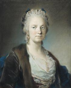 Rosalba Carriera (Italian artist, 1675-1757) Self Portrait