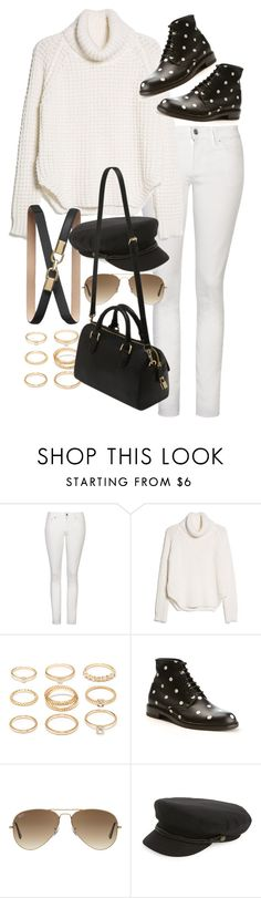 """""""Untitled #9589"""" by nikka-phillips ❤ liked on Polyvore featuring Yves Saint Laurent, MANGO, Forever 21, Banana Republic, Ray-Ban, Brixton and Mulberry"""