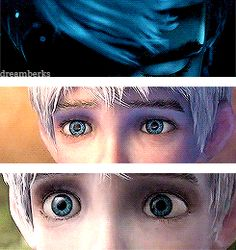 I love his eyes