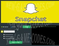 "Check out new work on my @Behance portfolio: ""Snapchat Hack Cheats Trainer"" http://be.net/gallery/34560133/Snapchat-Hack-Cheats-Trainer"