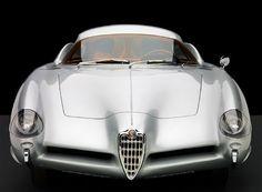 Silver car Alfa Romeo B.A.T