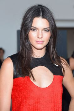 Kendall Jenner's Sleek Strands  - MarieClaire.com
