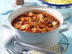Schnelles Mittagessen - in maximal 30 Minuten fertig! - wuerstchen-chili  Rezept