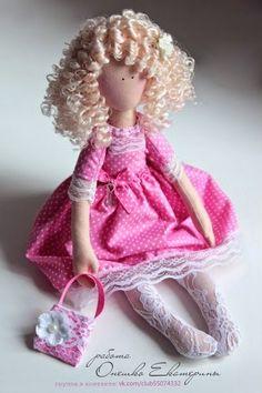 Mimin Dolls: menina com meia de renda
