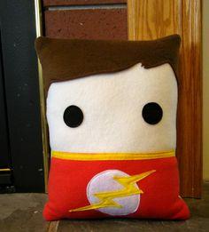 Sheldon Cooper Big Bang Theory inspired throw pillow by telahmarie, $30.00