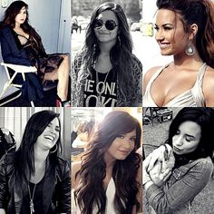 LOVE this collage of Demi.