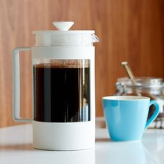 Recycled Coffee Press by Bodum - White, 8-Cup $19.95 at StarbucksStore.com