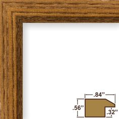 Craig Frames 8261610 Real Wood Grain Finish 17 by 24Inch PicturePoster Frame 084Inch Wide Rich Brown *** For more information, visit image link.Note:It is affiliate link to Amazon.