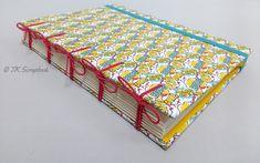 Tutorial: Caderno com encadernação artesanal (visão geral do caderno)