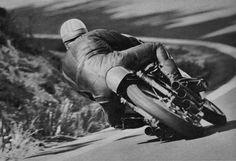 Mike Hailwood on the Honda RC166