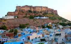 Jodhpur, India | 17 Impossibly Colorful Cities You'll Want To Visit Immediately