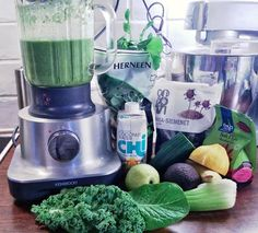 Raikas vihersmoothie - Fresh green smoothie