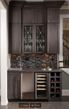 Bar Designs home wet bar design w/ glass backsplash | kitchen designsdelta