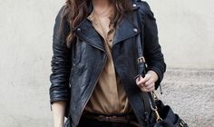 want that leather jacket. so much.
