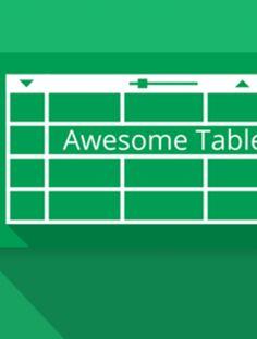 Display Google spreadsheet data beautifully