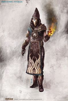 Necromancer or Evil Wizard from Banael