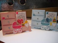 Side Step Cards for Jan 2016 Using Stampin' Up! Bundle Something for Baby Stamp Set with Baby's First Framelits Fun Fold Cards, 3d Cards, Folded Cards, Stampin Up Karten, Stampin Up Cards, Card Making Tutorials, Making Ideas, Side Step Card, Step Cards