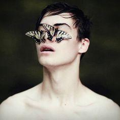 #butterfly #butterflies #model #photography