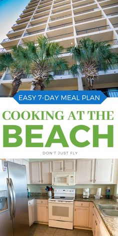 Staying at a beach condo in Myrtle Beach this summer for a safe social distance family vacation? Get this full week of easy recipes so you can cook at the condo to save money and stay safe. Includes a FREE printable shopping list so you can order all your groceries to have delivered to your door on the day you arrive.