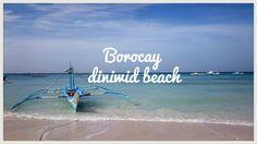 the diniwid beach, borocay