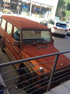 Rusted Mercedes G