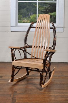 Our Amish furniture is hand crafted in the western Pennsylvania Amish country from a selection of either solid oak, or oak and hickory and is available in a light or dark finish.