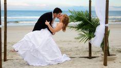una maravillosa boda en la playa