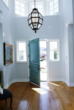 Paint color is Drizzle by Sherwin Williams.