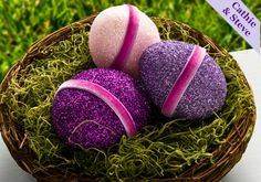 Glittered Easter Eggs with Mod Podge created with Mod Podge